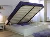 Кровать с подъемным механизмом и кроватным ящиком «СУННА» 1400