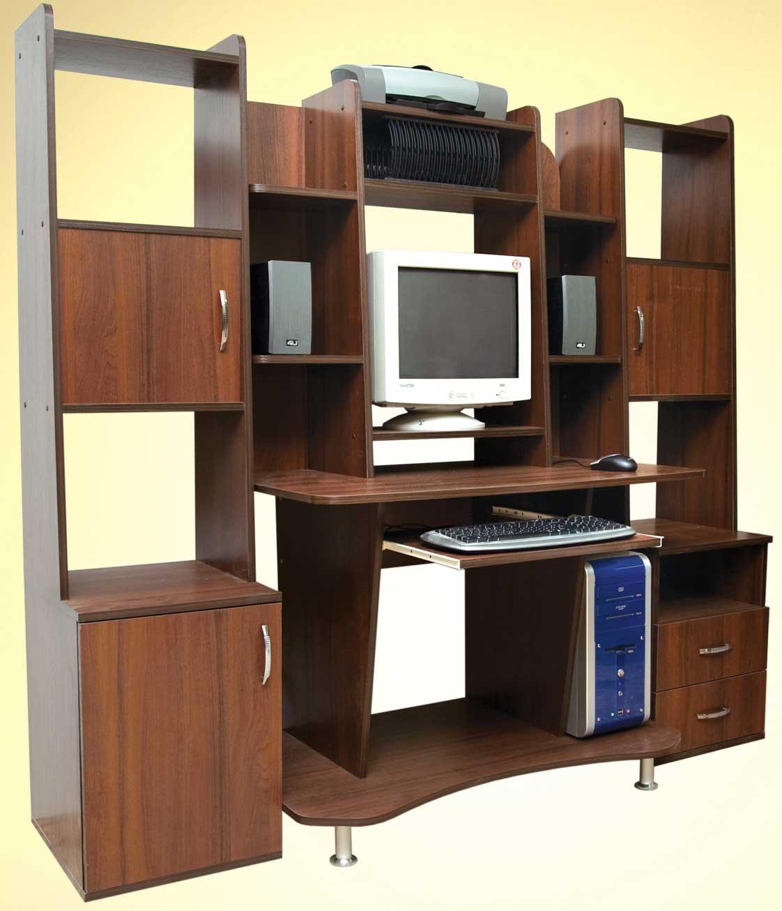 Изготовление компьютерных столов на заказ в красноярске изго.