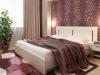 Кровать с решеткой на ножках «ФРИЯ» 1400